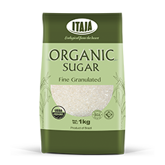 FINE GRANULATED ORGANIC SUGAR - 1 Kg