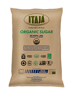 BAG OF FINE GRANULATED ORGANIC SUGAR – 25 KG